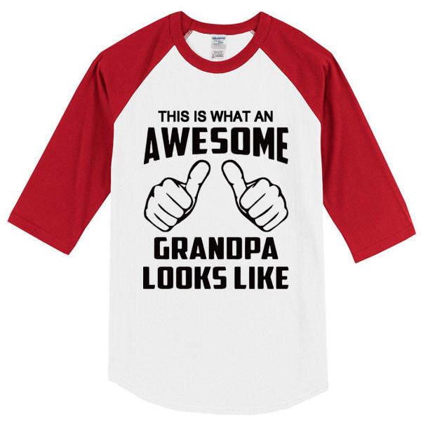 Mode Terkini Tshirt Summer 2018 T-shirt Ini Adalah Apa Yang Mengagumkan Kakek Tampak Seperti Lucu CrossFit Pria & 6239 S T-shirt Hip Hop Atas Raglan T Shirt Harajuku