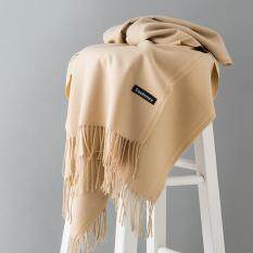 aee2f649a Fashion Winter Scarves Women Shawls Thicken Warm Scarves Wool Cashmere Scarf  Tassels Woman Shawl Wrap Gifts