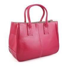 Fashion Woman Ladies Class PU Leather Satchels Tote Purse Bag Handbag 146280602e