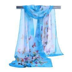 Fashion Women Chiffon Soft Wrap Scarf Ladies Shawl Scarf Scarves By Wallerstore.