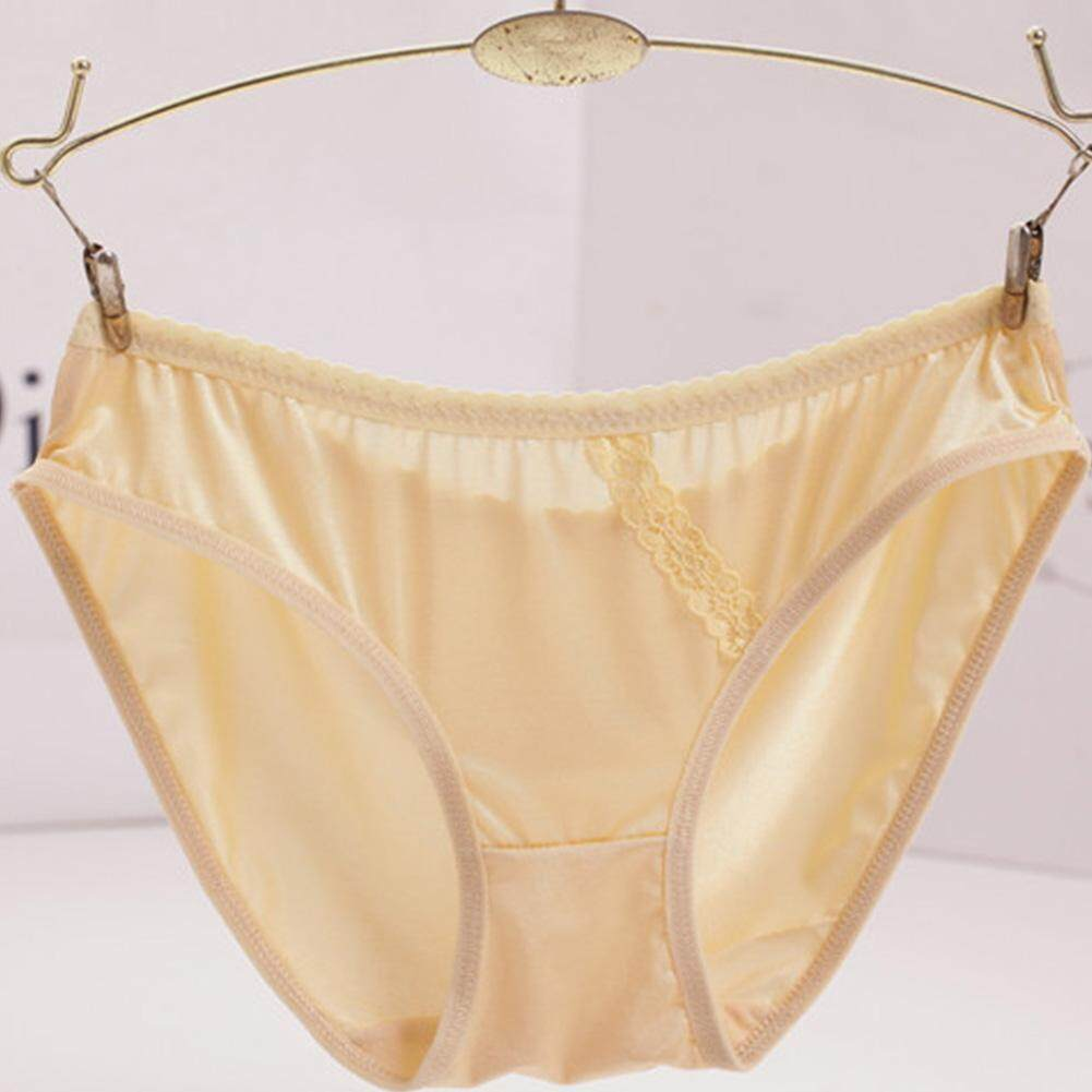 Buy Sell Cheapest Zhanrong Celana Kapri Best Quality Product Deals Dalam Wanita Lembut Renda Tanpa Kelim Gratis Ukuran Pinggang Rendah