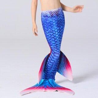 Đuôi Nàng Tiên Cá Vây Xanh Monofin Đuôi Bơi, Trang Phục Bơi Cho Bé Gái thumbnail