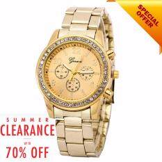 ***Final Clearance*** Orlando Small Dials Pattern Design Full Steel Watch Relogio Masculino Clock Malaysia