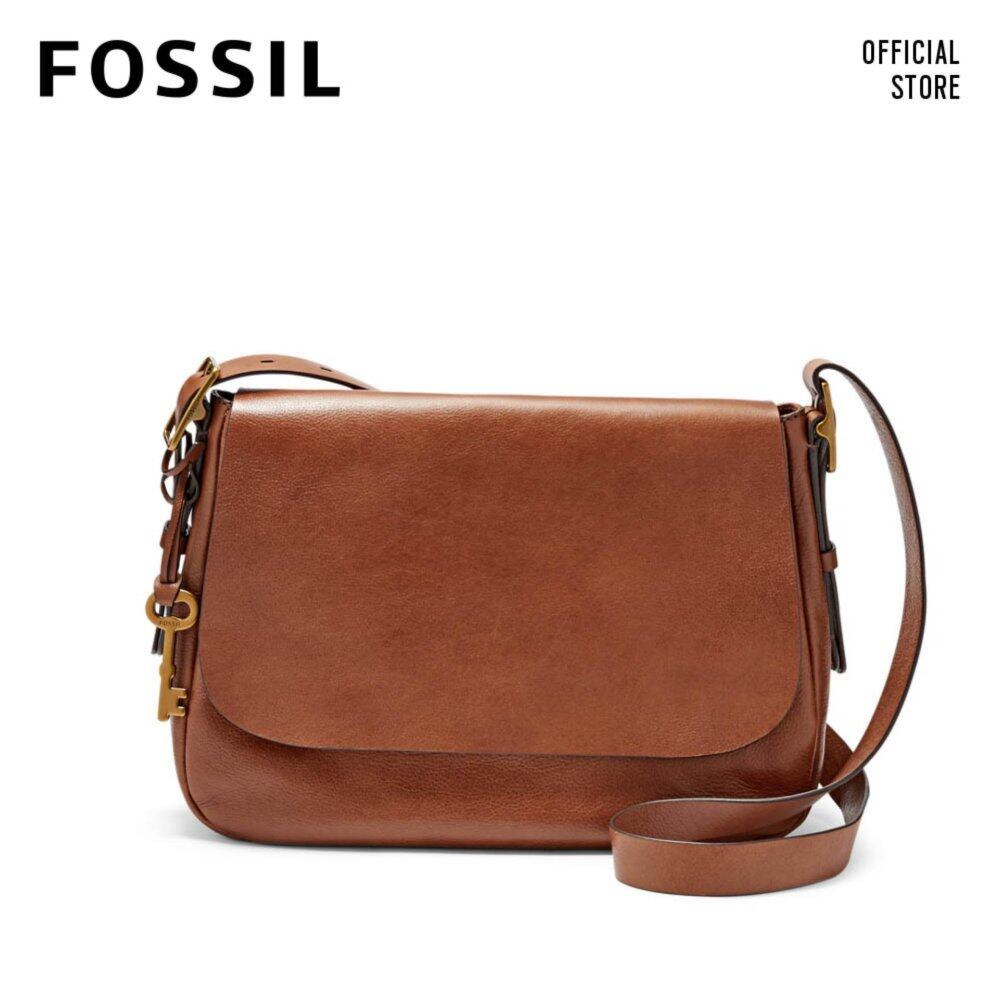 Fossil Brown Large Crossbody Zb6760200