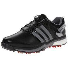 From USA adidas Mens Adipower Boa Boost Golf Shoe Core BlackIron Metallic