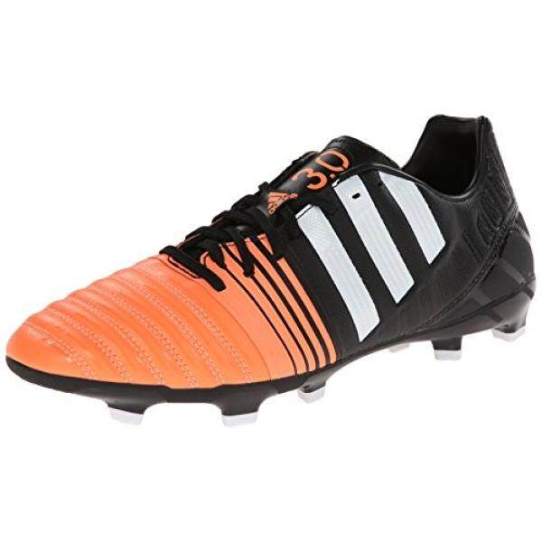 From USA adidas Performance Mens Nitrocharge 3.0 Firm-Ground Soccer Cleat, Core Black/Running White/Flash Orange, 10 M US - intl