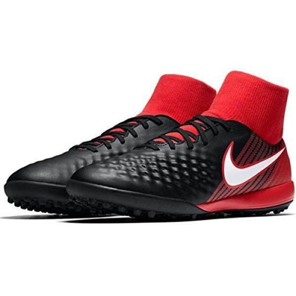 From USA NIKE Mens Magista Onda II DF TF Turf Soccer Shoes Black, Red - intl