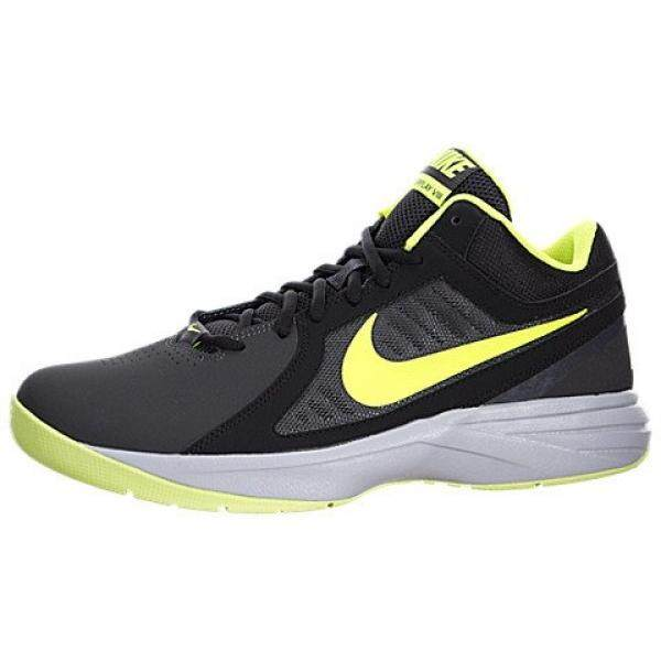 From USA Nike Mens The Overplay VIII NBK Anthracite/Volt/Black/Cl Gry Basketball Shoe en US - intl