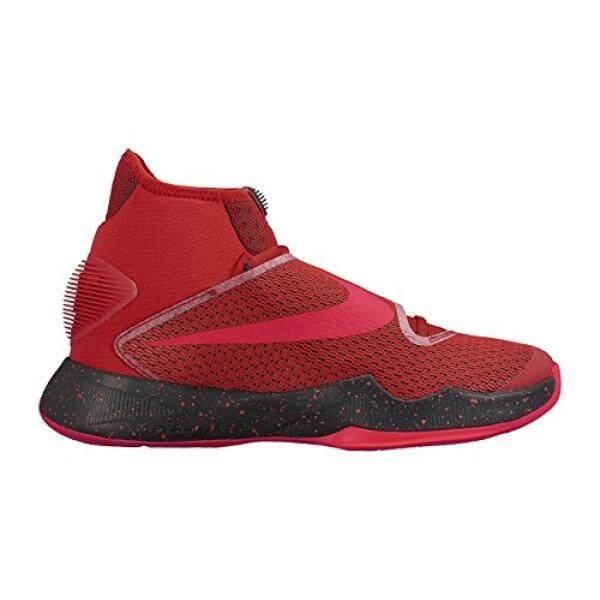 Dari Amerika Serikat NIKE Pria Zoom HyperRev 2016 University Merah/Brght Crmsn/Hitam Sepatu Basket 11 Orang Kami-Internasional