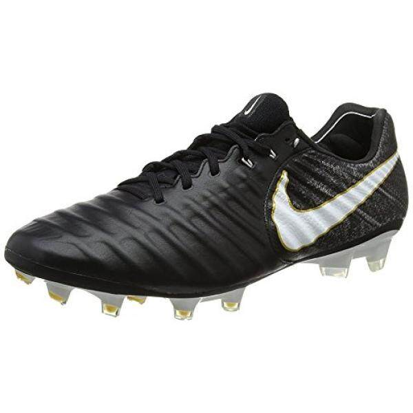 From USA Nike Tiempo Legend VII FG Men Soccer Cleats - Black White Size: 7 - intl