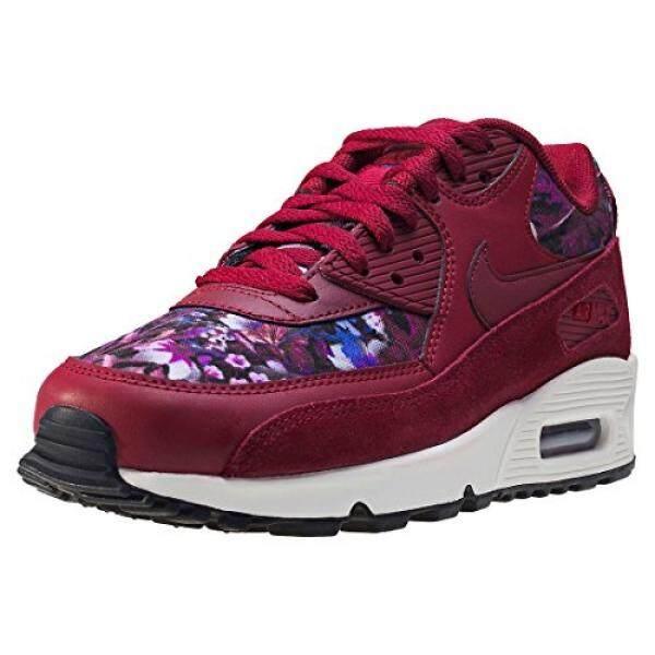 Dari Amerika Serikat Nike Wanita AIR MAX E Bunga Sepatu Lari Tim Merah/Malam Merah Marun-Internasional