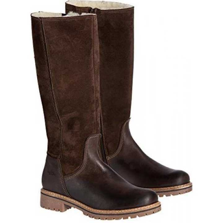 [From.USA]BOS  Waterproof CO Womens Hudson Shearling-Lined Waterproof  Leather Boots, Dark Brown/Coffee, Size EU41 B07597B2PV - intl 5c0007