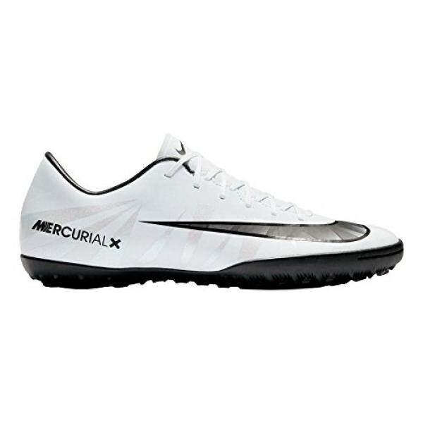 [. Amerika Serikat] Nike Pria MERCURIALX VICTORY VI CR7 TF Turf Sepak Bola Cleat (Sz. 8.5) Warna Biru, Putih B06X9DDQJW-Internasional