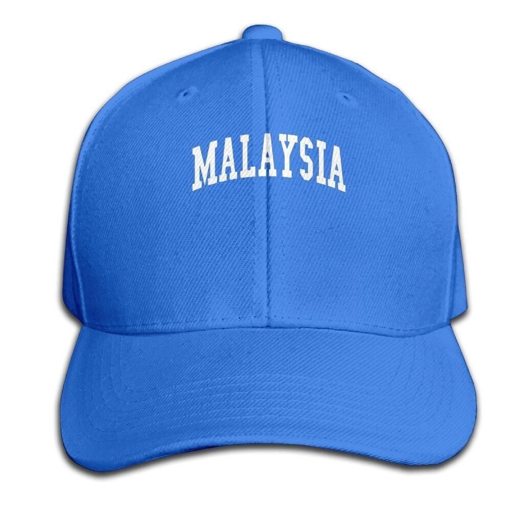 Fwesrgerhg Geek Unisex-Adult Malaysia Solid Color Cap Royalblue - intl