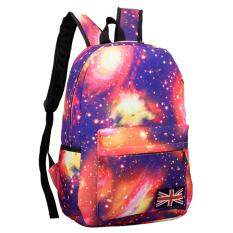 Galaxy Pattern Unisex Travel Backpack Canvas Leisure Bags School Bag Pk By Garnerstore.