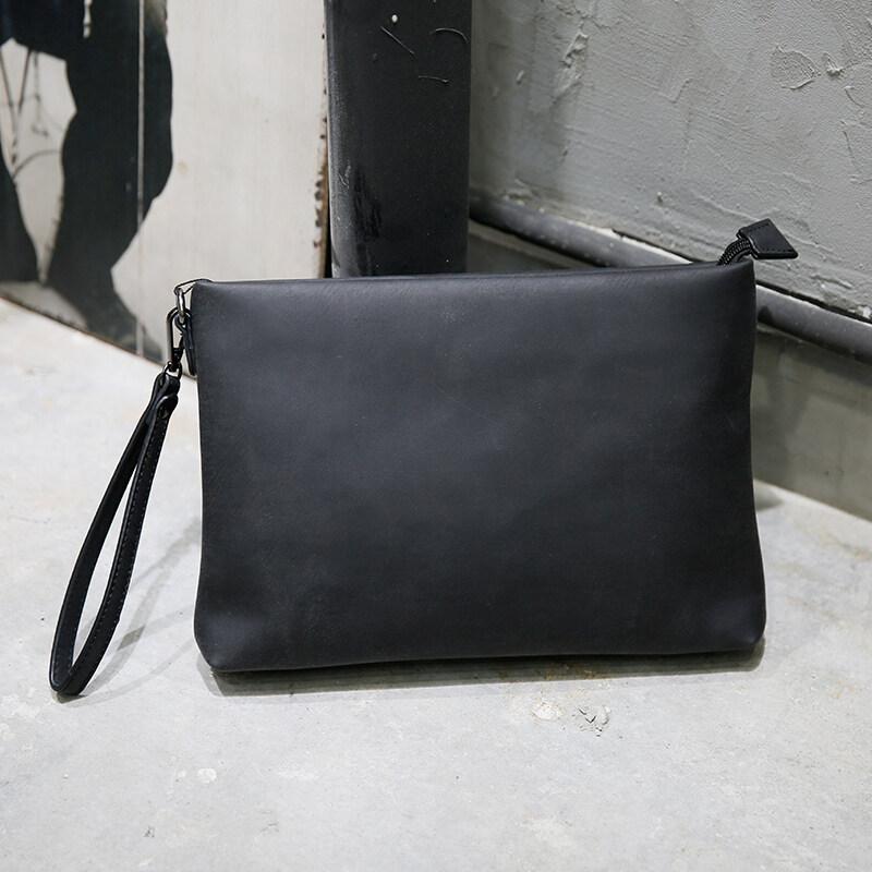 Genuine Cow Leather Tote Bags Fashion handbag man version handbag man bag  business hand envelope envelope 7ba19e52ba199