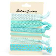 Gprince Korean Style Fashion Print Harajuku knotted Hair Rope Hair Bands Hair Accessories Style 9