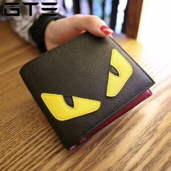 GTE Popular Little Monster Eyes Wallets High Quality Leather Wallet Cartoon Wallet - Fulfilled by GTE SHOP