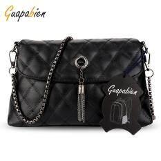 Fashion Wanita Tas Bahu Tali Rantai Messenger Tas Handbags Logam Buckle BW-Intl. IDR 130,500 IDR130500. View Detail. Guapabien Rhombus Tassel Style Bags ...
