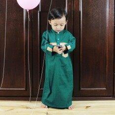 Girl Long Dress Kids Modern Baju Kurung Assorted Colors Jubah AbayaMYR52.  MYR 57 1fdbf3d2a7