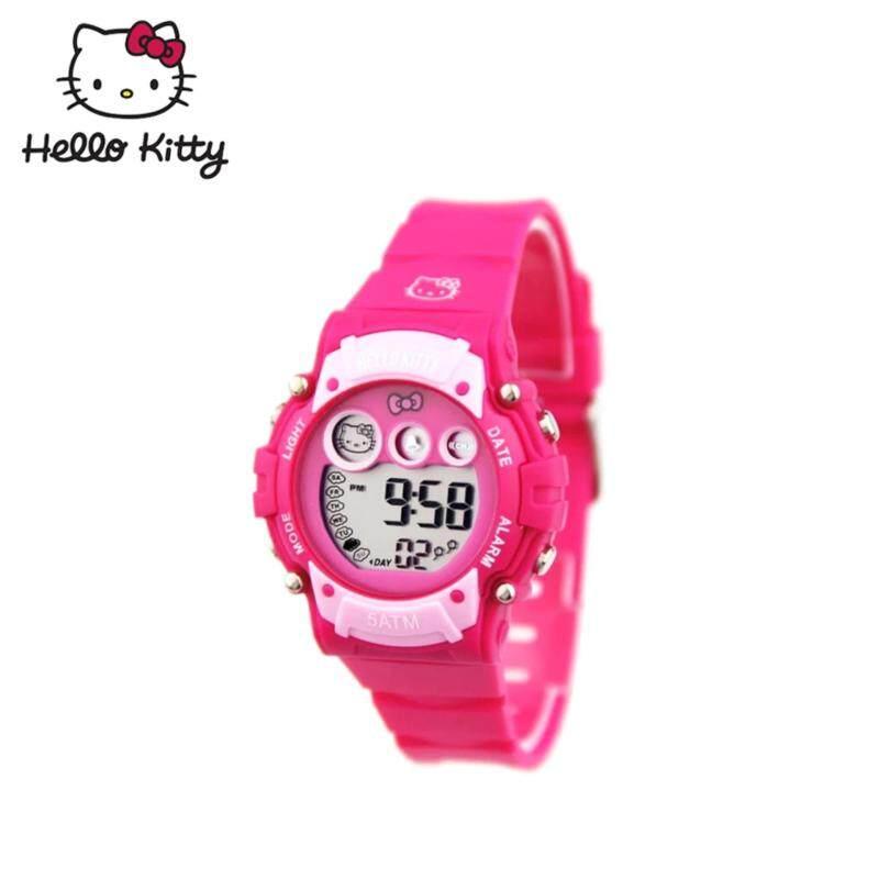 Hello Kitty Digital Watch HKSQ1356-02A (Dark Pink) Malaysia