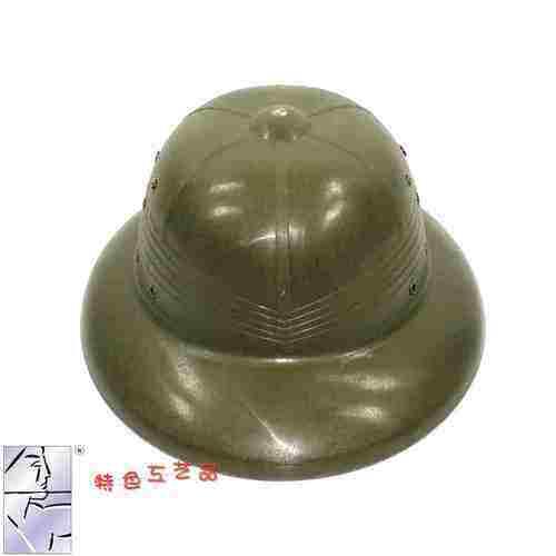 Helm Topi Pelindung Matahari Vietnam Topi Melawan Menyerang Tentara untuk Melakukan Tiang Topi Pantai Plastik Cuckold Suami Outdoor Helm Keselamatan topi Tentara-Intl