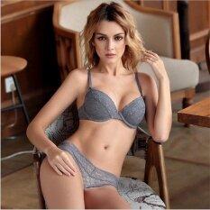 c0f30c45fa HGHISYU New 2017 Lace Black Push Up Bra Set Top A B C Cups Underwear Women  Lingerie Panties