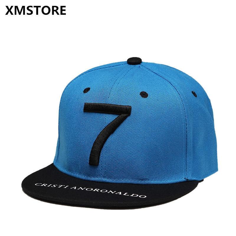 MYR 61. High Quality Cristiano Ronaldo CR7 Football Baseball Cap Hat  SummerSports Snapback Hats Bone Men Neymar NJR Hip Hop Caps ... 9f4322895dc7