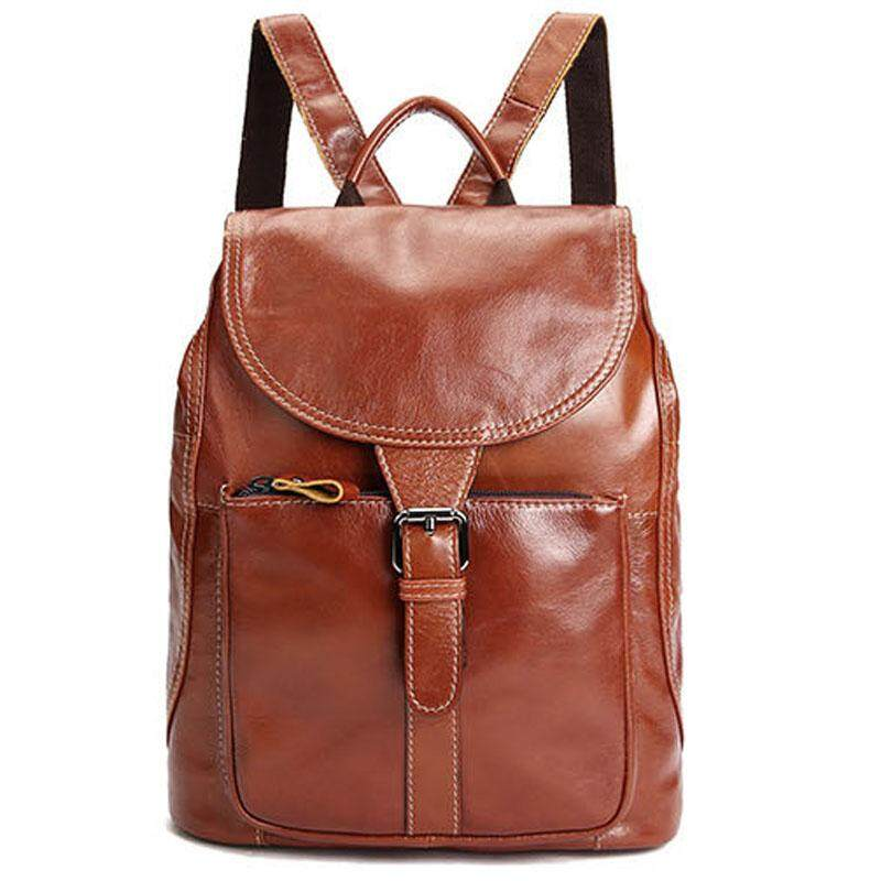 High Quality Real Genuine Leather Women Backpack Ladies backpacks for  teenage girls back pack Travel Bags fcfc0cde41896