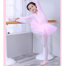 Hola Gadis Anak Putri Musim Semi Lengan Panjang Musim Gugur Rok Balet [membeli 1 Mendapatkan 1 Gratis Panty] By Hola586.