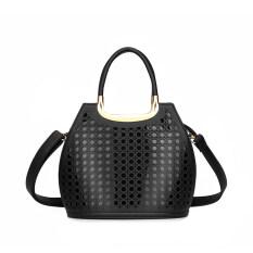 Hollow Out Handbags Small Tote Bag Women Messenger Bag Black - Intl