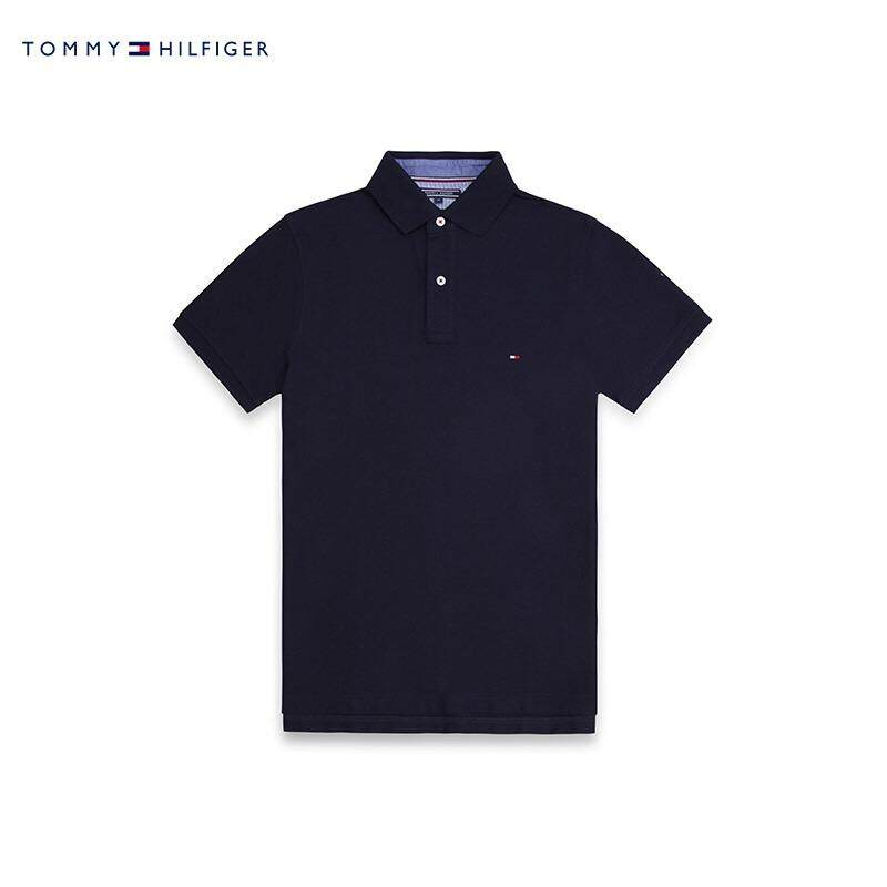 Sale Hot Sale New 2017 Fashion Tommy Brand Men Polo Shirt Solid Color Short Sleeve Men Cotton Polo Shirts Casual Shirts Intl Oem Cheap