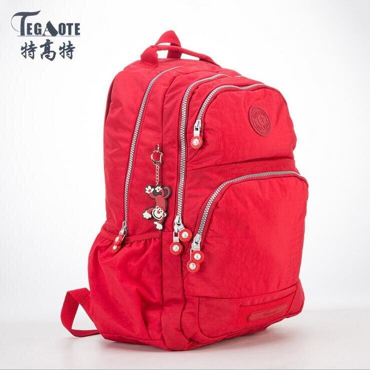 HOT!!2017 Women Backpack for Teenage Girls Kipled Nylon Backpacks Mochila  Feminina Female Travel 20816f3ef1
