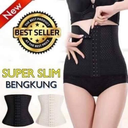 Who Sells Icq 【Munafie Stock High Quality Fast Delivery】Ultraslim Corset Body Shaping Waist Girdle Tummy Control Slimming Belt Bengkung Black Intl Cheap