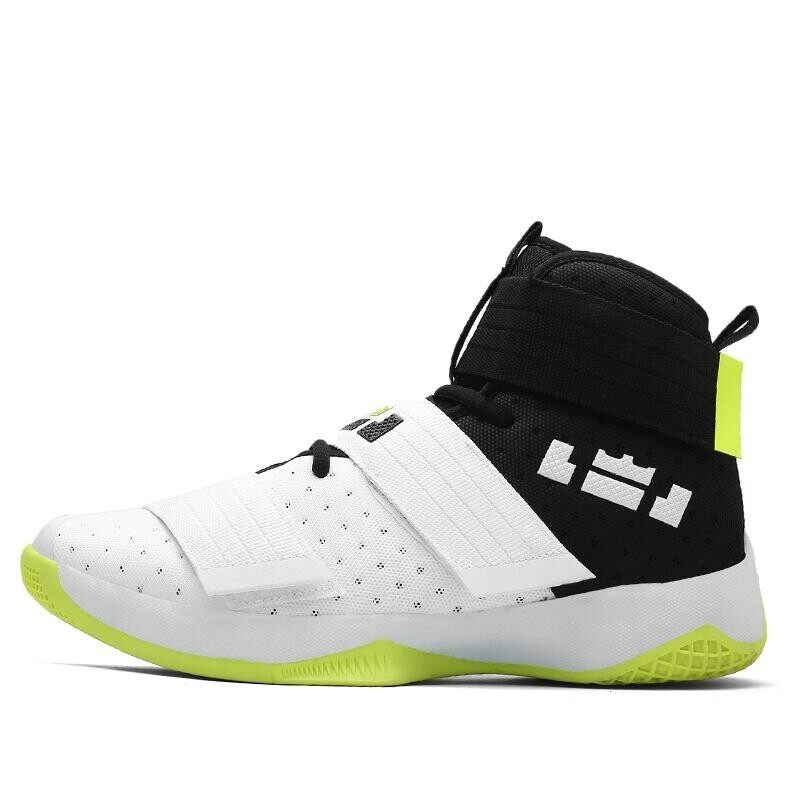 INMILE New Men Basketball Shoes Men Sneakers Breathable Outdoor Athletic Sport Shoes Hombre Men Ankle Boots