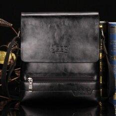 Jeep Cowhide Leather Crossbody Bag Shoulder Bag Men Tote Bag Business Casual Messenger Bag MSA77B (