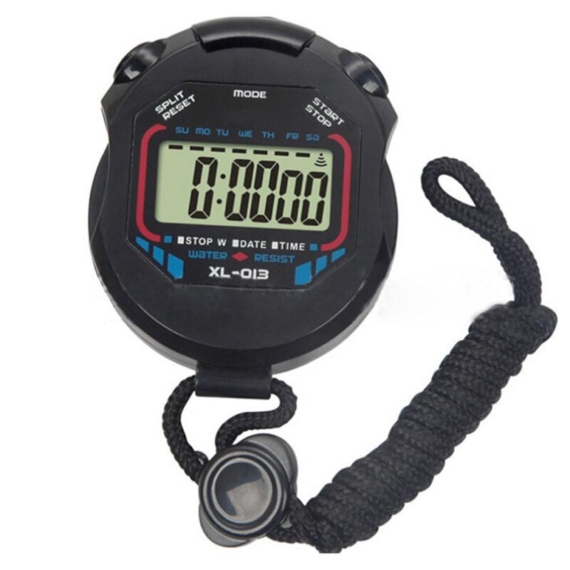 Jetting Buy Professional Handheld LCD Chronograph Stopwatch Black Malaysia