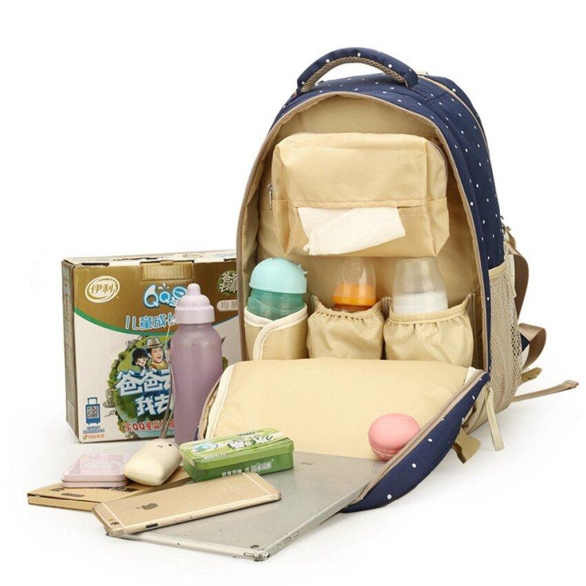 JOJO Large Capacity Maternity Backpack Nappy Diaper Backpacks For Travelmultifunctional Mother Mummy Mom Baby Bags Maternidade - intl