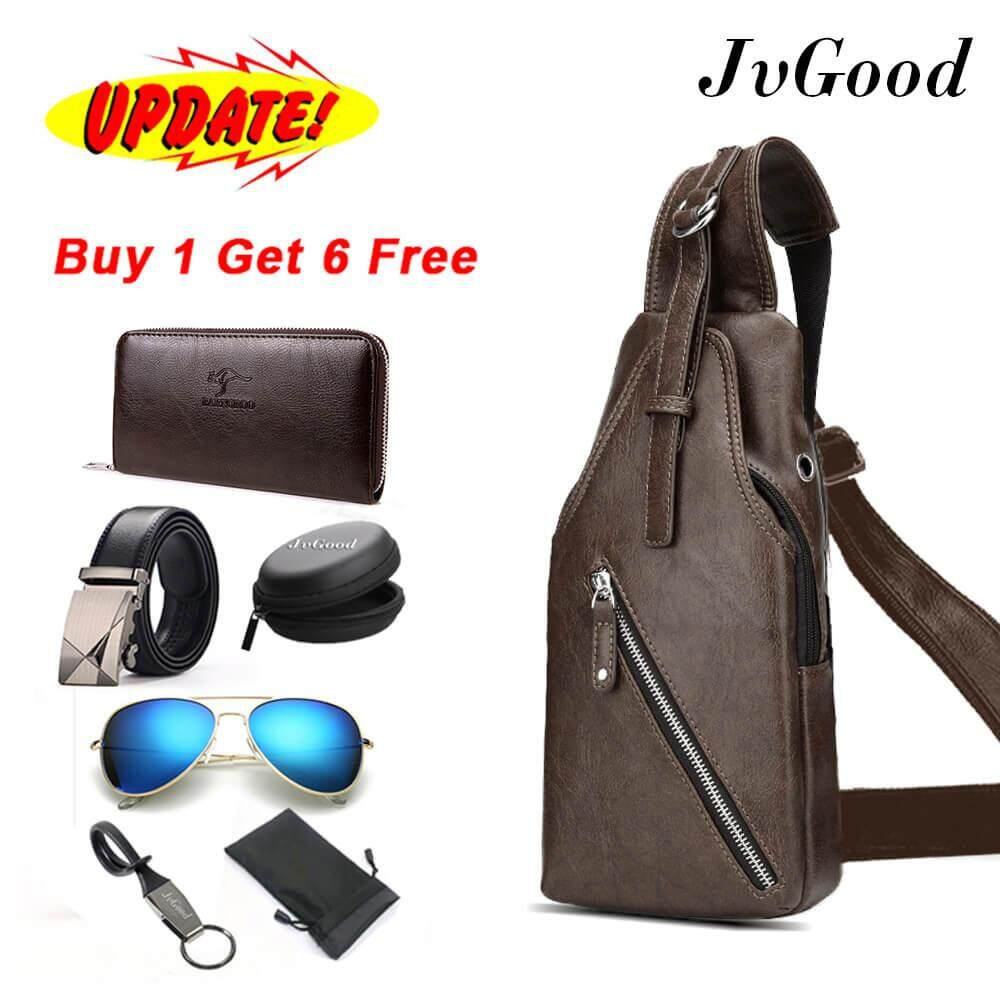 Buy Sell Cheapest Rs Sling Backpack Best Quality Product Deals Tas Selempang Anti Thief Water Proof Smart Crossbody Bag Theft Shoulder Lightweight Chest 6 Presents Long Wallet