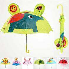 Kids Cute Anmals Long Handle Rain Umbrella -Ladybug By Taopanda.