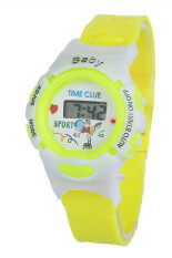 Kids Electronic Digital Sports Wrist Watch - Yellow Malaysia