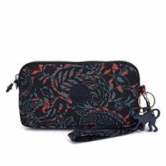 Klpllng Fashion Women's canvas Wallets Clutches Mobile phone bag(Black)