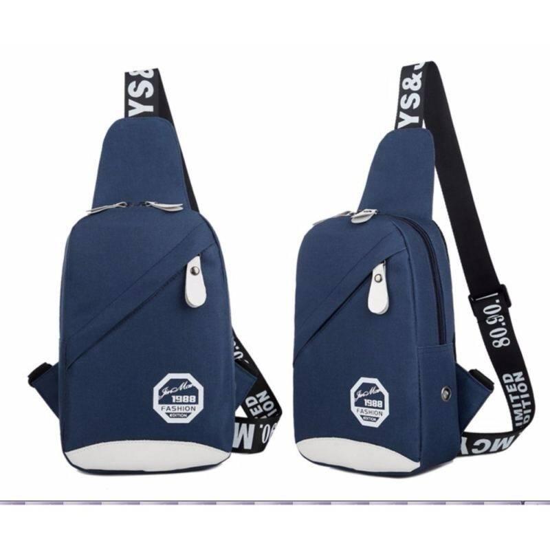 Korean Bag Men Bag Women Bag Outdoor Bag Shoulder Bag Hiking Chest Bag  Sling Canvas Bag 6fbeebe1ee179