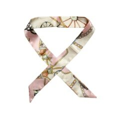 46842d87da Kuhong New Silk Twilly Scarf Ribbon Hair Band Bags Handle Decoration Bow  Tie Multifunction Ribbon For