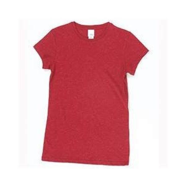 Wanita Awak Kapal Leher Kaus-Kardinal Merah Berkilau-Internasional