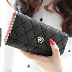 Lady Women Clutch Long Purse Leather Wallet Card Holder Handbag Bags Black 0aa878dba2e1f
