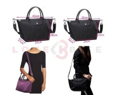 Le Pliage Neo Vibration Tote Bag With Strap Khaki
