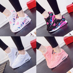 Leisure Sports Running Shoes Students White Thick Air Cushion Shoes Womens Shoes (fast Delivery) By Liershangmao.