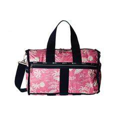 Lesportsac Luggage Womens Weekender Hawaiian Getaway Pink One Size
