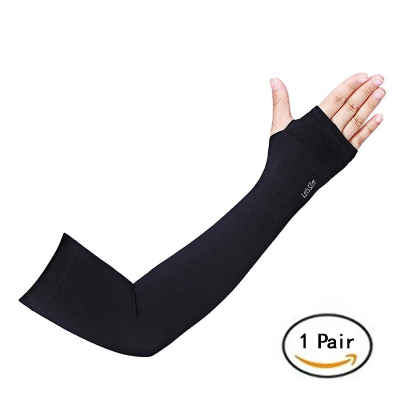 Great-King one pair Lets slim Arm Sleeves Uv Protection Cooling Long Arm  Cover Fast 7fe78dac2
